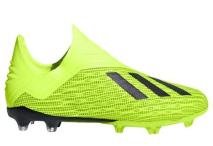 Adidas X 18+ FG J - Solar Yellow/ Core Black/ Cloud White
