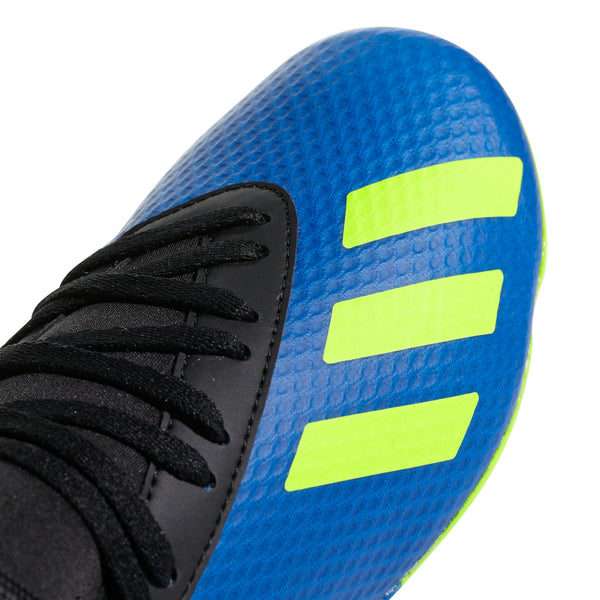 Adidas X 18.3 FG J - Football Blue/ Solar Yellow/ Core Black