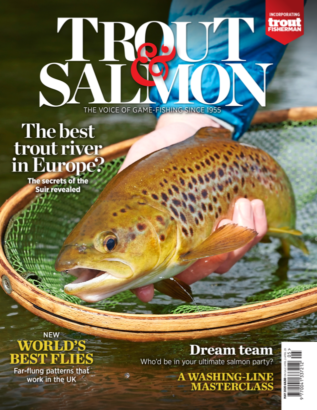 Trout & Salmon Magazine Feature - May 2020 issue
