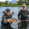A Day of Brown Trout River Fishing in Ireland