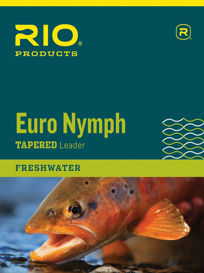 RIO Euro Nymph Leader - NEW