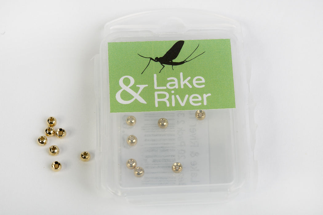 Lake & River Tungsten Beads - 20 pack