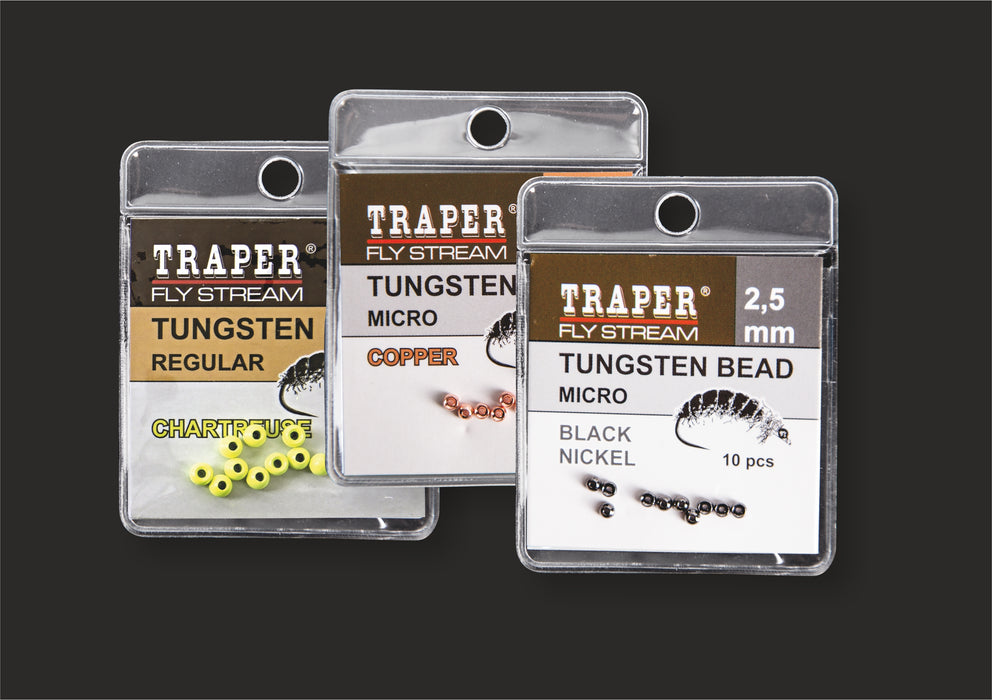 Traper Tungsten Beads - Slotted