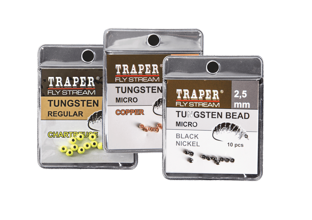 Traper Tungsten Beads - Regular