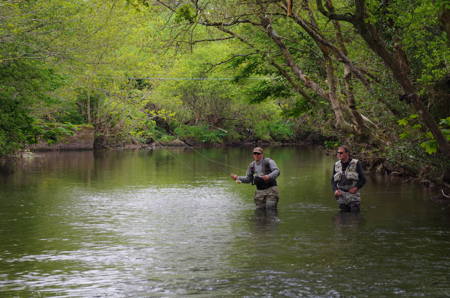 1 day river fishing fly fishing school