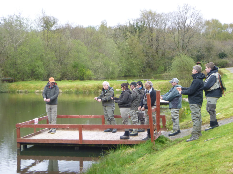 1 day beginners fly fishing school