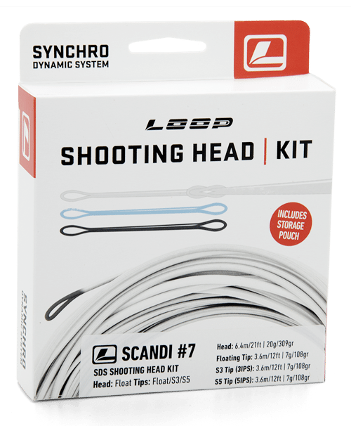 Loop SDS Scandi Shooting head Kits - NEW