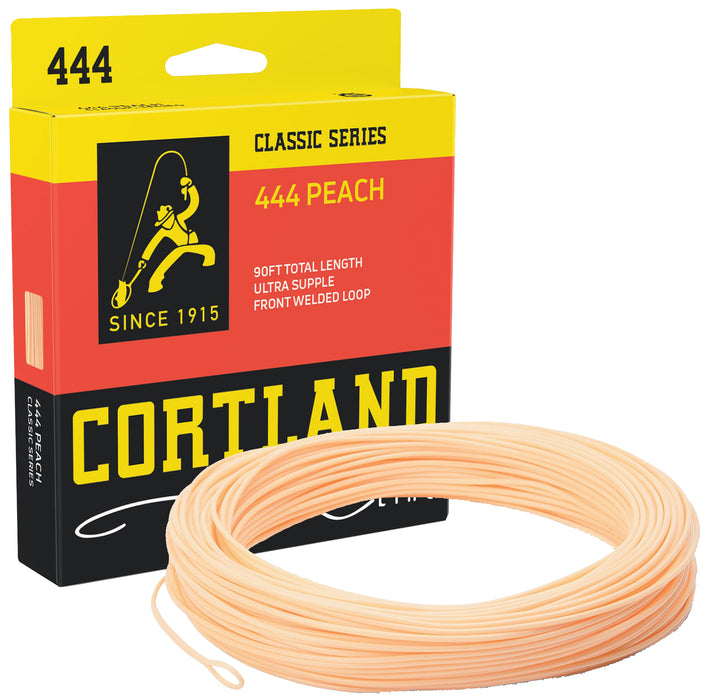 Cortland Classic 444 Peach Weight Forward Floating Fly Lines