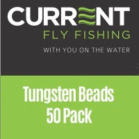 Current Tungsten Beads - Countersunk 50 pack