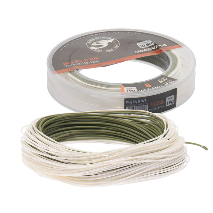 Scierra Big Fly II Floating/Sink3 Fly Line WF