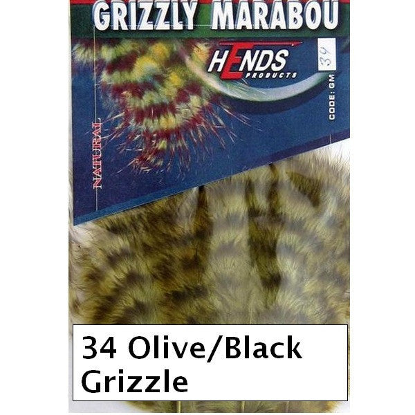 Hends Grizzly Marabou
