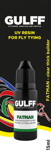 GULFF Clear Resin Fatman, 15ml