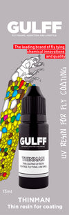 GULFF Clear Resin Thinman, 15ml
