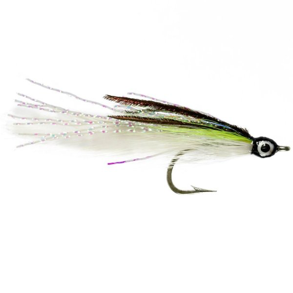 Chartreuse and White Deceiver