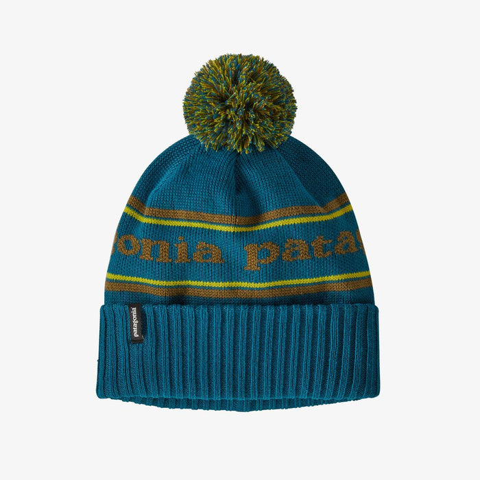 Patagonia Powder Town Beanie - Park Stripe Knit: Crater Blue