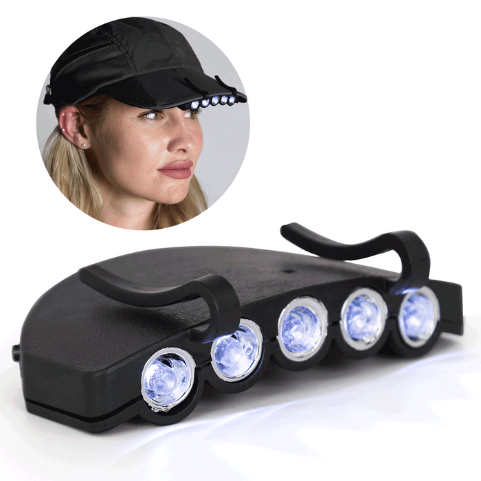 Current LED Clip-on Hat Light - NEW