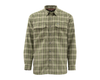Simms Coldweather Shirt Covert Plaid