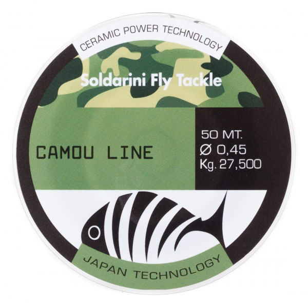 Soldarini Fly Tackle Camou Line Leader Material