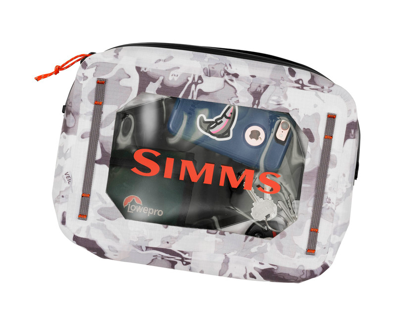 Simms Dry Creek Gear Pouch - 4L Cloud Camo Grey