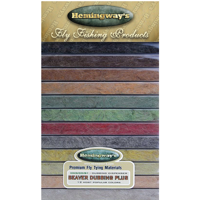 Hemingways Dubbing Dispenser – Beaver Plus