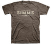 Simms Quality Heritage T-Shirt  Brown Heather - NEW