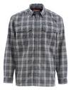 Simms Coldweather Shirt Black Plaid