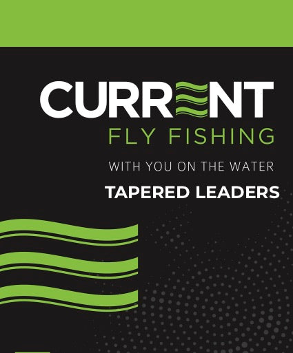 Current 9ft Tapered Leaders - 2 Pack