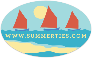 Sailboat Sticker - SummerTies