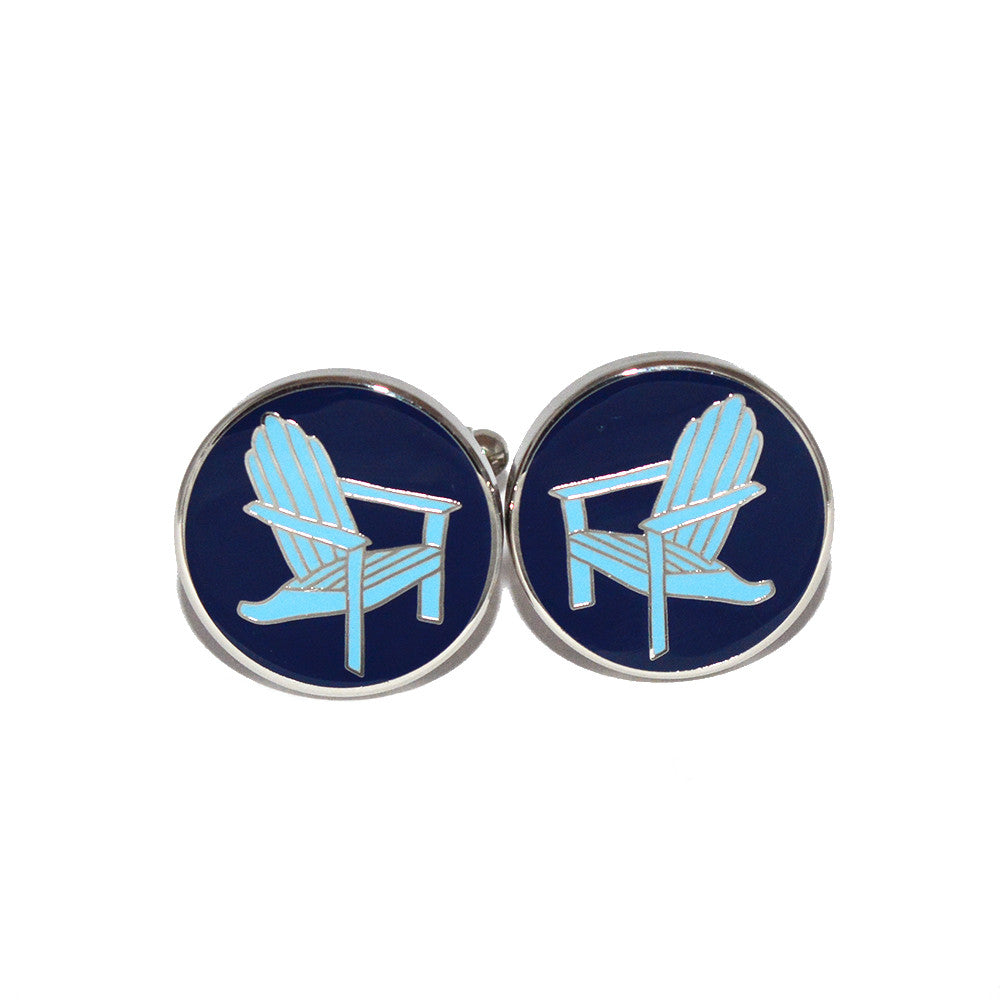 Adirondack Chair Cufflinks - SummerTies