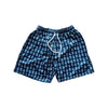 Anchor Men's Bathing Suit - White on Navy