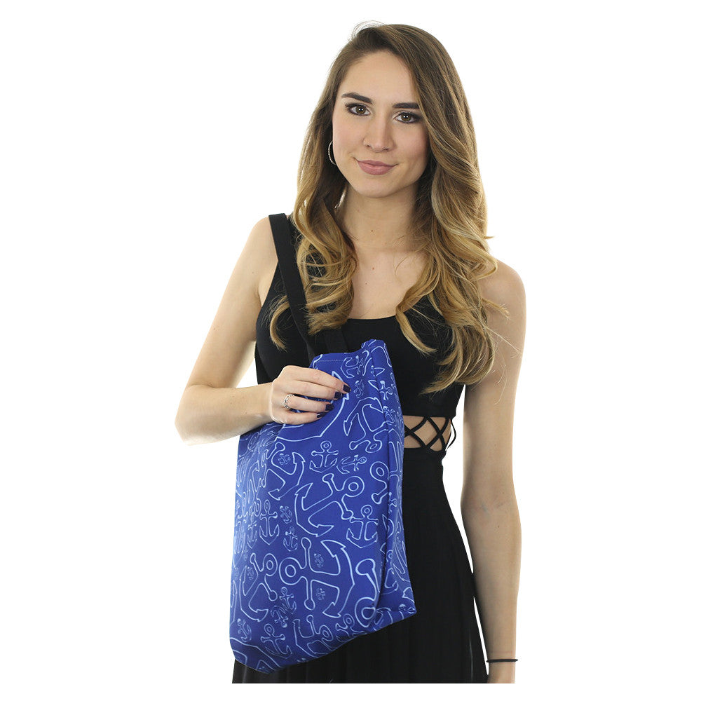 Anchor Dream Tote Bag - Navy - SummerTies