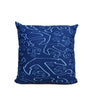 "Anchor Dream Navy Pillow 16"" x 16"" - Faux Suede - SummerTies"