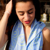 Anchor Dream Scarf - Light Blue - SummerTies
