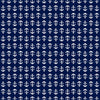 Anchor Toss Shower Curtain - Navy - SummerTies  - 5