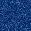 Anchor Dream Shower Curtain - Navy - SummerTies  - 5