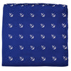 Anchor Pocket Square - Navy - SummerTies