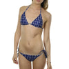 Anchor Bikini - White on Navy - SummerTies