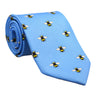 Bee Necktie - Printed Silk - SummerTies