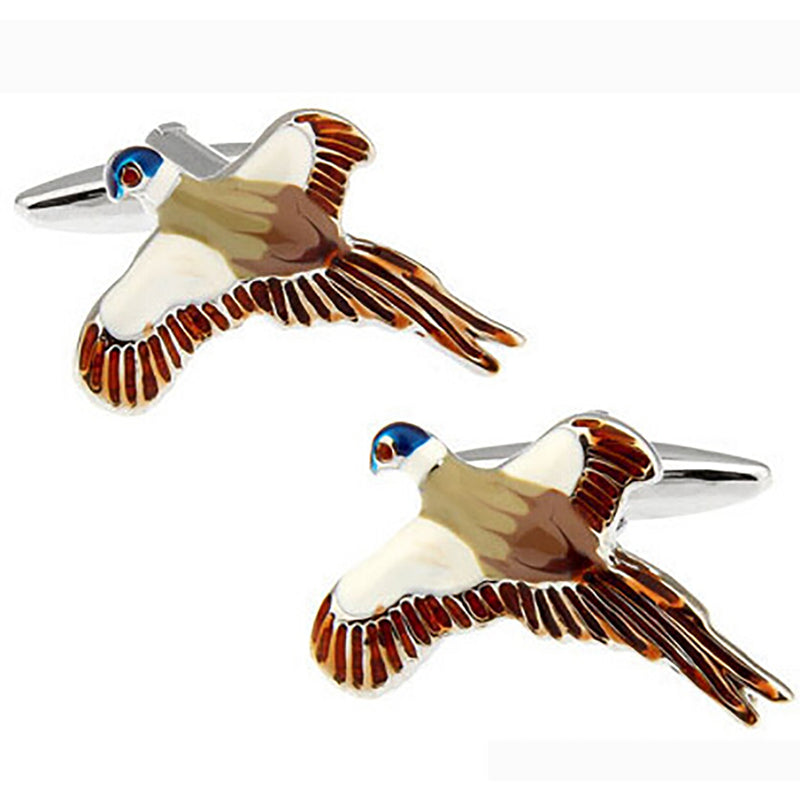 Bird Cufflinks - 3D - SummerTies