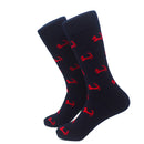Cape Cod Socks - Men's Mid Calf - Navy - SummerTies