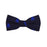 Catboat Bow Tie - Navy, Woven Silk, Pre-Tied for Kids - SummerTies