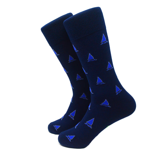 Catboat Socks - Men's Mid Calf - SummerTies