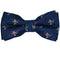 Duck Bow Tie - Navy, Woven Silk, Pre-Tied for Kids - SummerTies