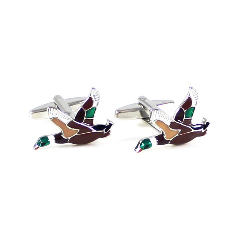 Duck Cufflinks - 3D - SummerTies