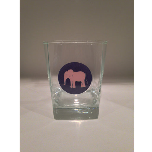 Elephant 13oz Old Fashioned Glass - SummerTies