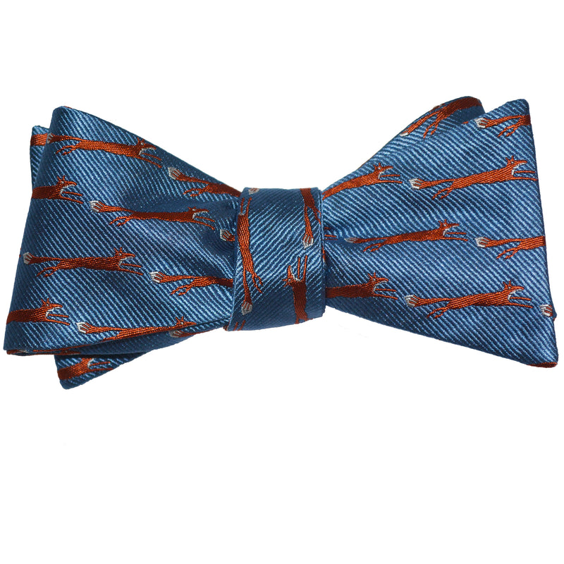 Fox Bow Tie - Woven Silk - SummerTies