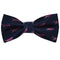 Humpback Whale Bow Tie - Woven Silk, Pre-Tied for Kids - SummerTies