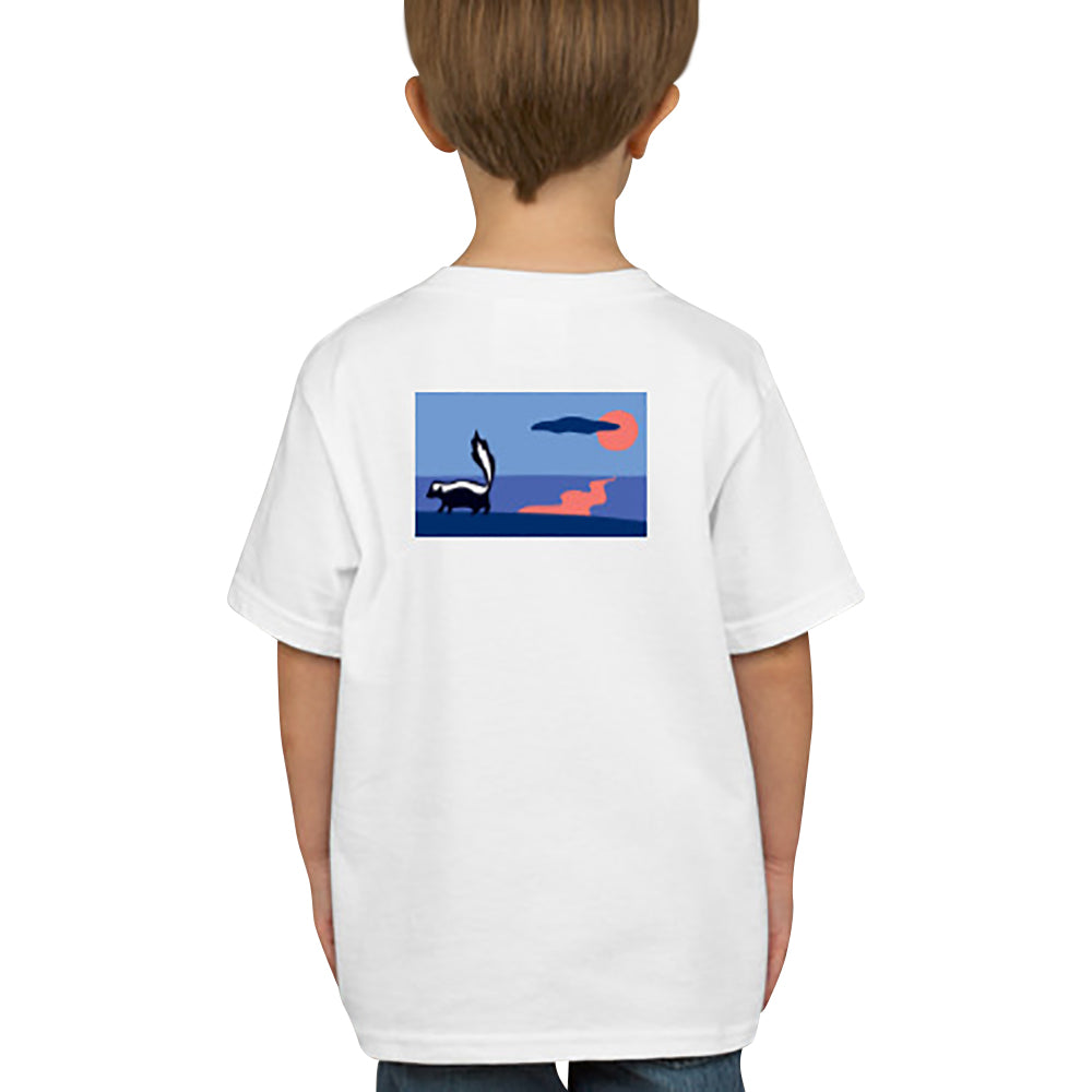 Skunk T-Shirt - Short Sleeve, Kids - SummerTies