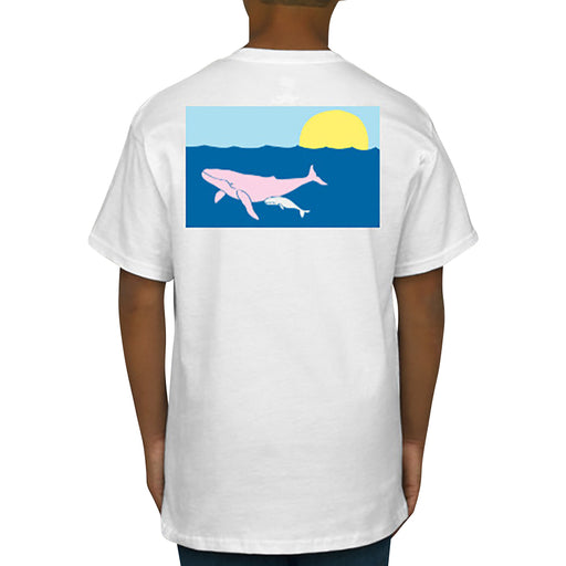 Humpback Whale T-Shirt - Short Sleeve, Kids