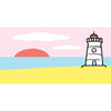 Lighthouse Towel - SummerTies
